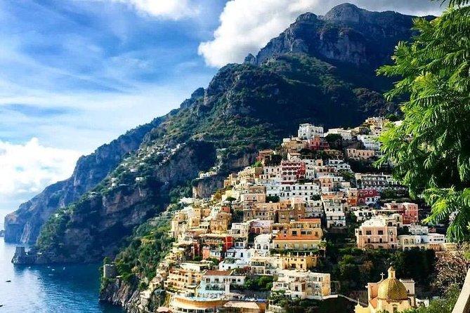 Sorrento-Positano-Amalfi from Naples Area