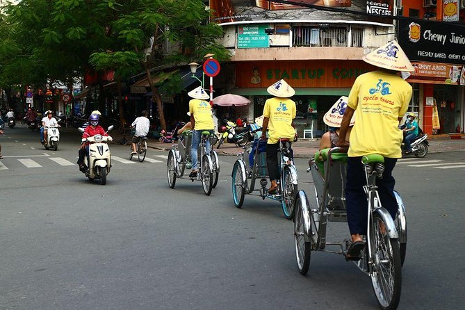 Cyclo Tour Half Day in Ho Chi Minh city