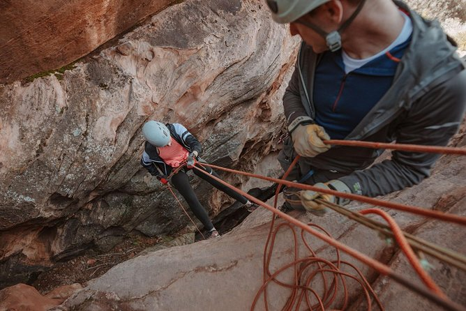 Rock Climbing and Canyoneering Combo Trip near Zion National Park