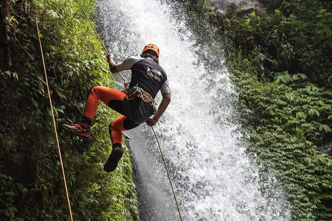 Maya Dewa and Lower Shakti Canyoning Adventure in Bali