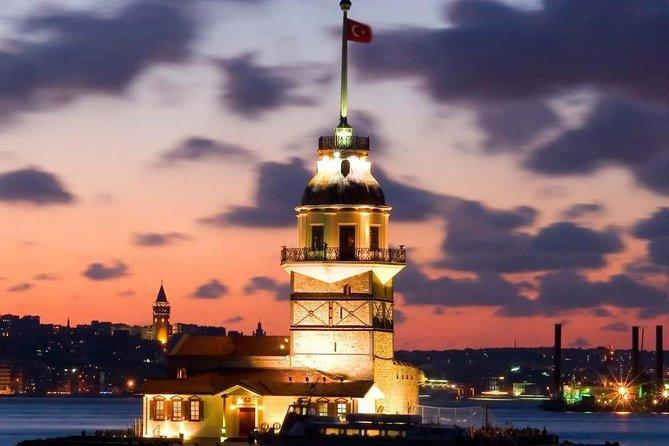 Shore Excursions Bosphorus Night Cruise by Private boat Balik-Ekmek Fish & Chips