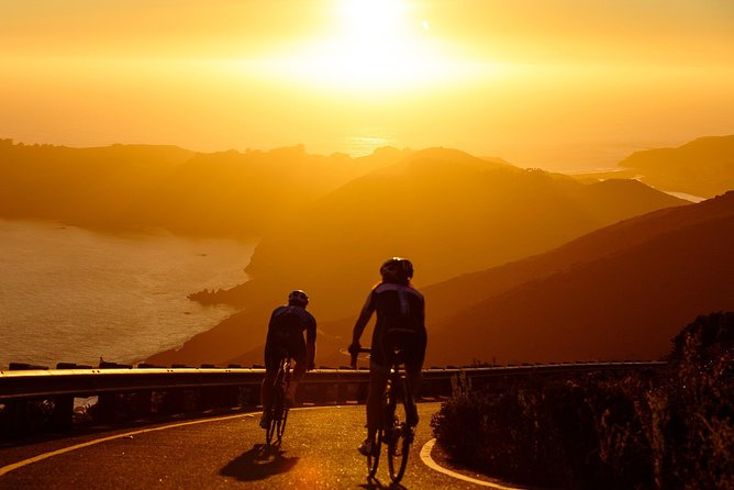 Sunset ebiking in Monterosso-Cinque Terre Image