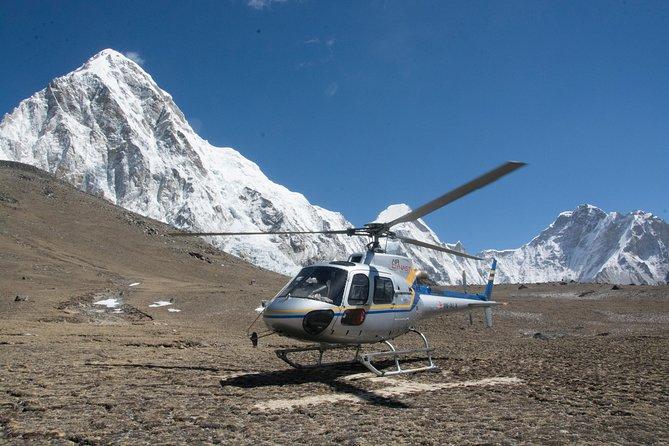Everest Base Camp Trek and Helicopter Return