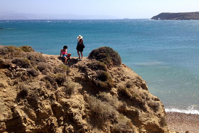 Amazing hike to the best beach of Paros!