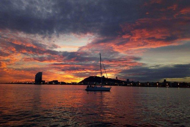 Barcelona Sunset Sailing Cruise