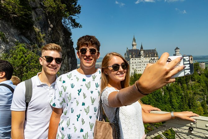 Neuschwanstein Castle and Linderhof Palace Day Tour from Munich
