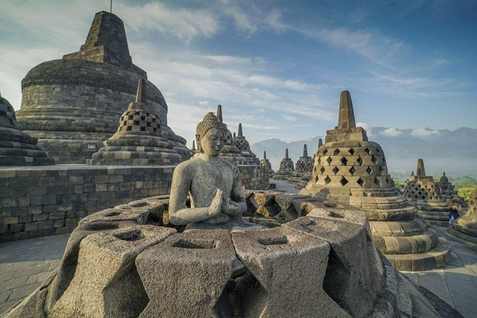 Historical Temple Of Borobudur & Prambanan With Lunch And Guide