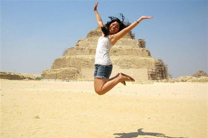 Excursão de meio dia às pirâmides de Memphis Sakkara e Dahshur