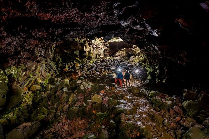 3-Hour Lava Caving Tour Including Transfers from Reykjavik