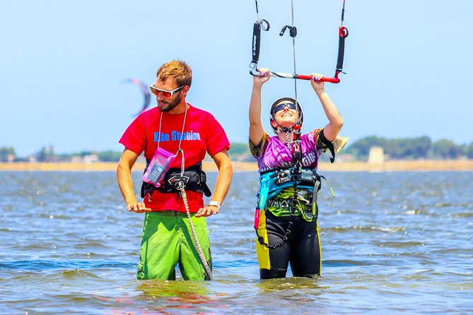 Test lesson- check if You are interested in kitesurfing