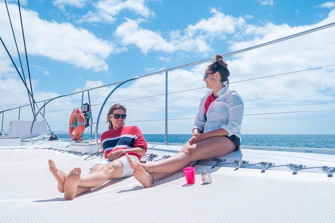 Catlanza Catamaran Sailing in Lanzarote