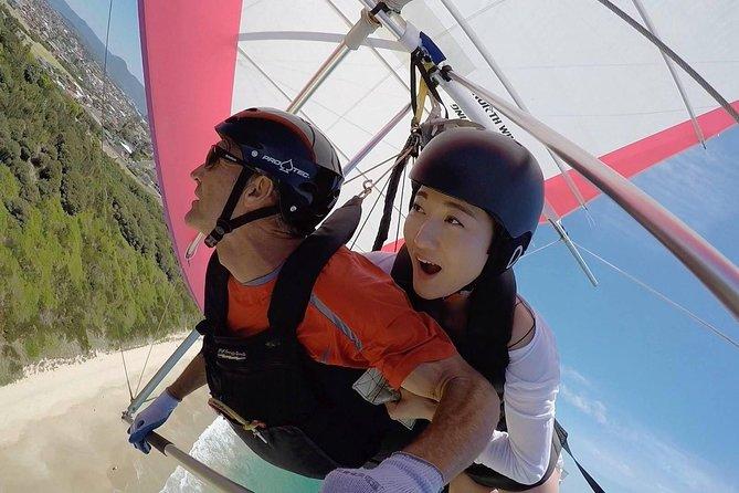 Hang gliding with HangglideOz