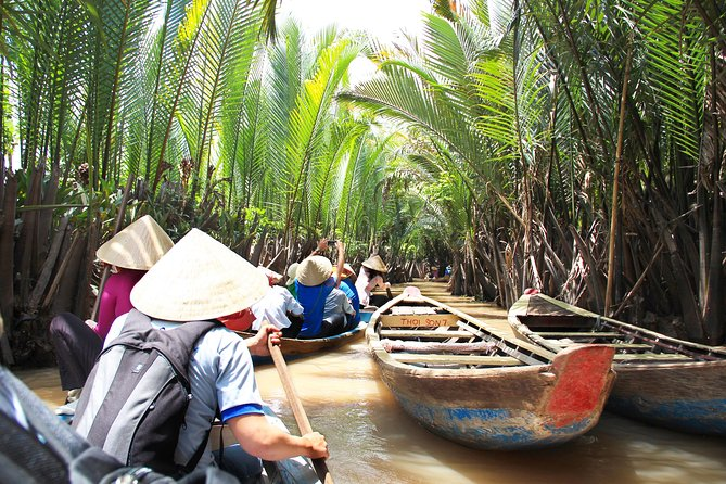 Private Mekong Delta Boat Ride Day Tour with Lunch from HCMC