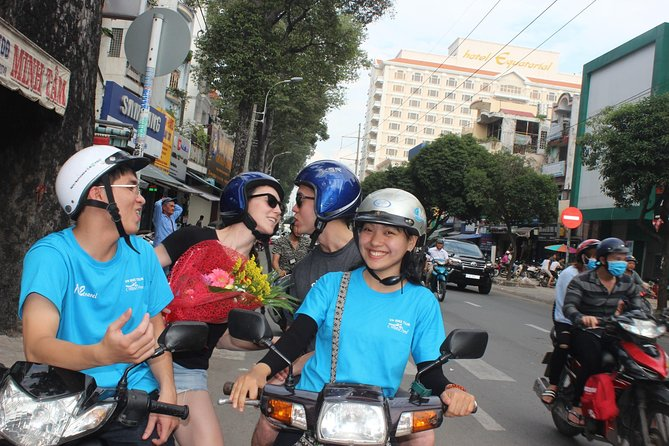 Private Sagion City tour by motorbike