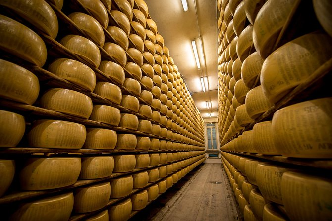 Tour The Secrets of Parmigiano Reggiano