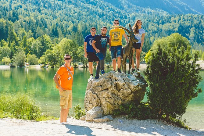 Soca Valley, WW1 path, Waterfall, Rafting - small group day trip from Ljubljana