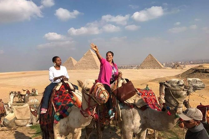 2 days Giza pyramids and old city with round airport transfer