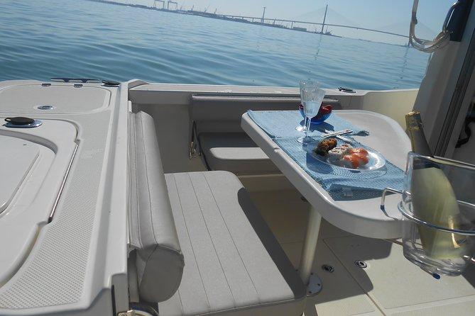 Boat and fishing trips in the Cadiz bay, Cadiz, ESPAÑA