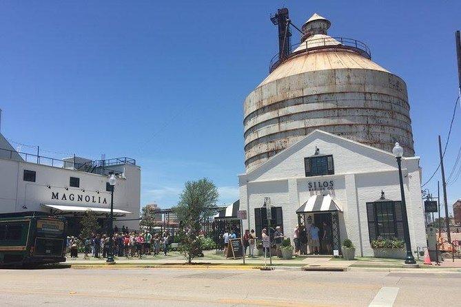 Mercado Waco e Magnólia na viagem de um dia a Silos saindo de Dallas