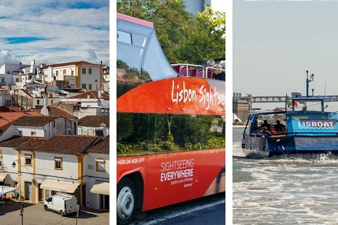 From Lisbon: Evora Private Private Tour with Lunch & Hop-off Hop-On BUS and BOAT