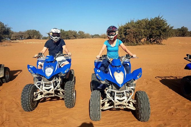 Quad Biking Half Day And Camel Ride In Sunset