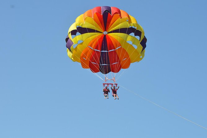 Parasailing Adventure Flying in the Sky With Private Transportation- Hurghada