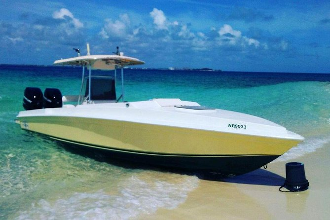Private Speedboat Charter to Rose Island, Bahamas