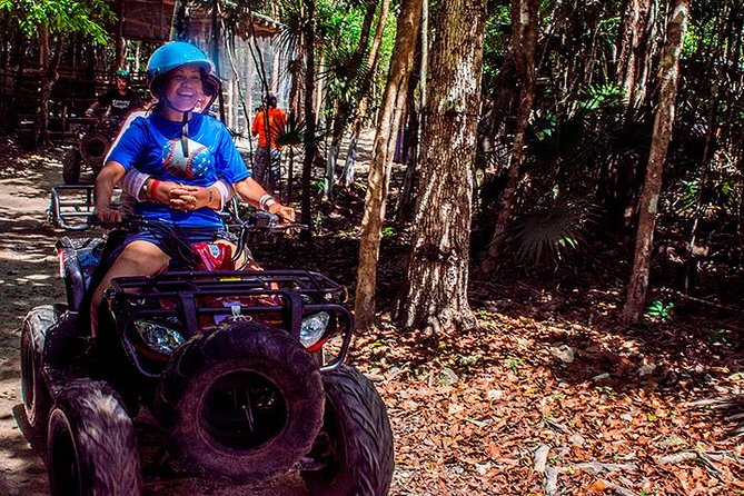 Experience ATV (Shared) and Zipline Riding from Cancun