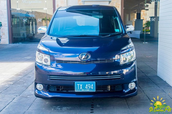 St Lucia Airport Shuttle from Hewanorra Airport (UVF) - One Way
