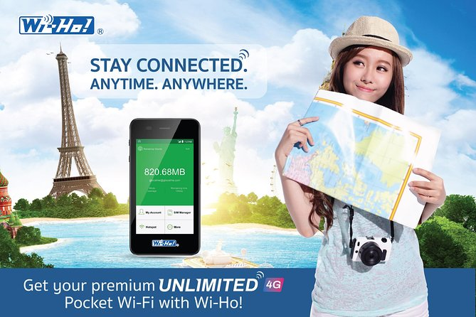 WiFi rental unlimited internet phuket