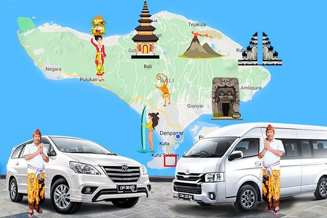 Nusa Dua Local Transport services, with Good English Speaking Driver