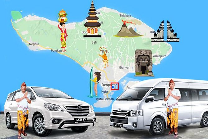 Sanur Local Transport services, with Good English Speaking Driver