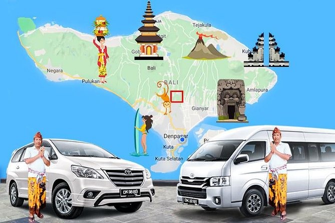 Ubud Local Transport services, with Good English Speaking Driver