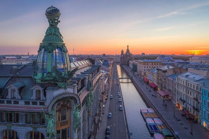 Walking Sightseeing Tour With The State Hermitage Museum