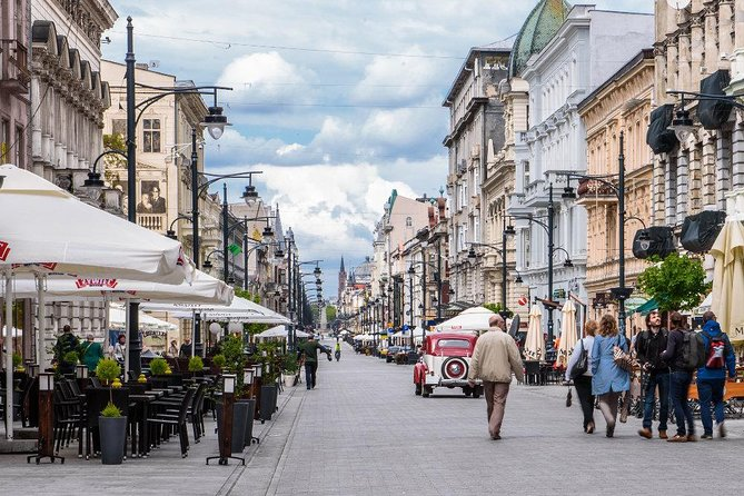 Lodz Small Group Tour from Warsaw with Lunch