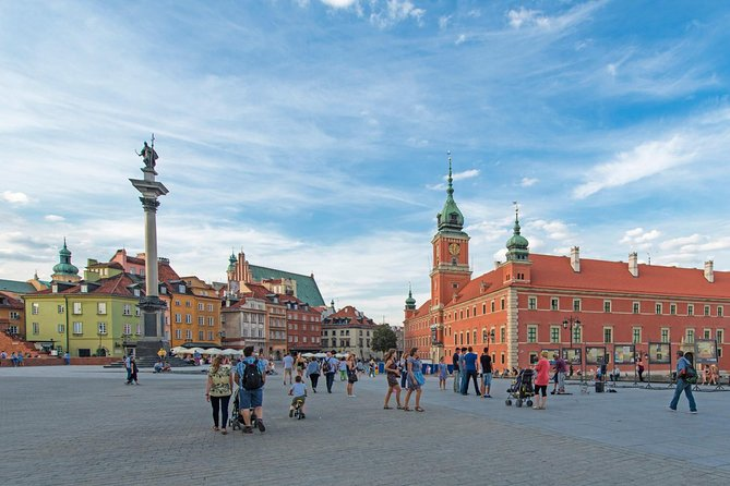 Small Group Warsaw City Tour by Car