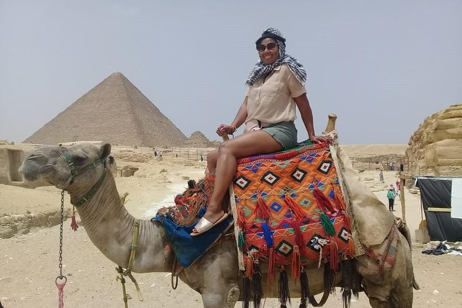 8-hours Giza complex pyramids ,sphinx and Egyptian museum tour