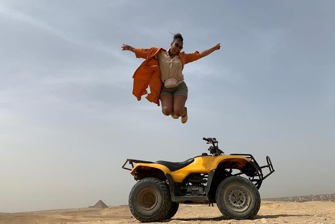 Giza pyramids & an Atv quad bike ride from Cairo Giza hotels
