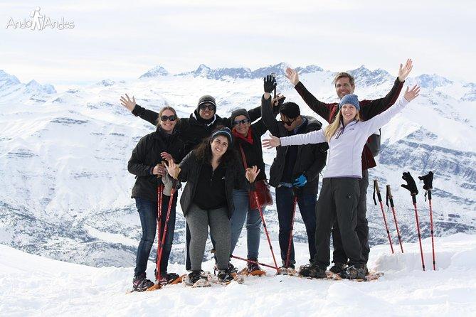 Volcano Snow Hike 4k in Cajón del Maipo from Santiago Private Tour