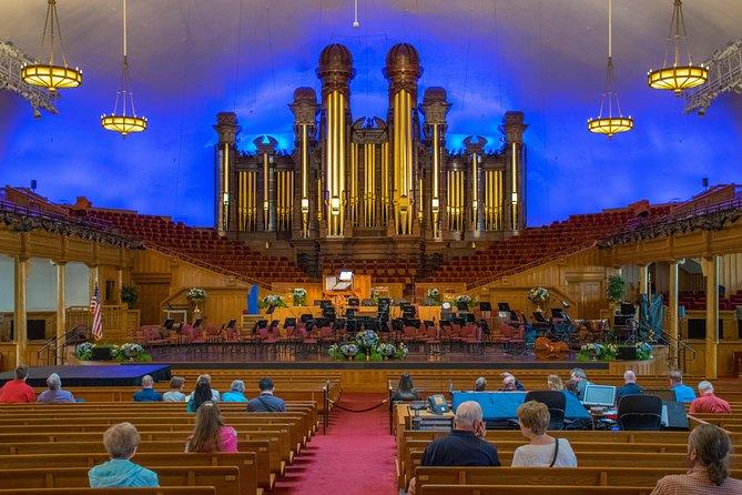 Salt Lake City Private Vip Tour Pipe Organ Recital Transport 2019