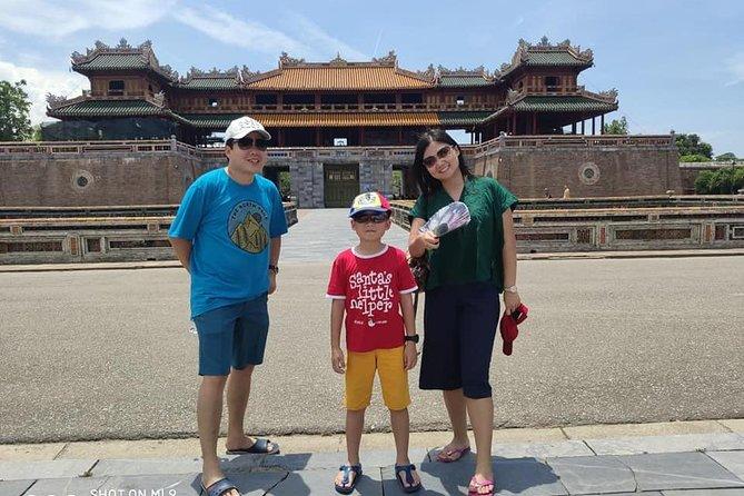 Hue City Tour Via Hai Van Mountain , Lap An Lagoon, Perfume River, Royal Palace
