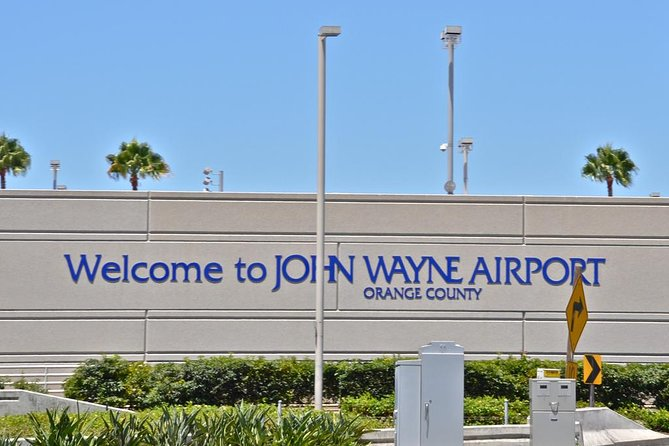 John Wayne Airport (SNA): Private Transfer From Anaheim Resort.
