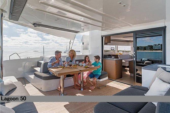 Private Day Cruise on a Catamaran from Paros to Antiparos via Panteronisi