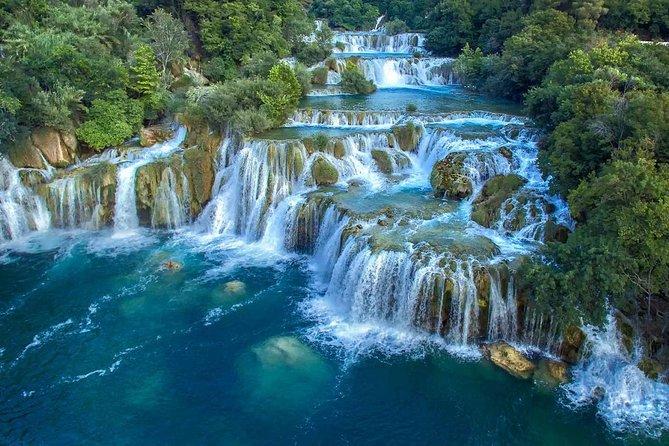 Krka National Park day trip via Šibenik from Split