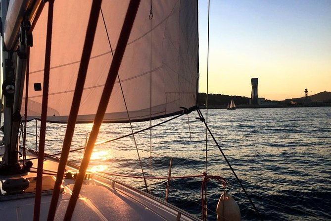 Sunset Sailing Experience from Port Vell in Barcelona
