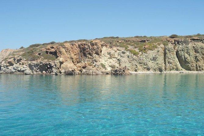 Shared Swimming Trip from Milos to Provatas via Adamantas