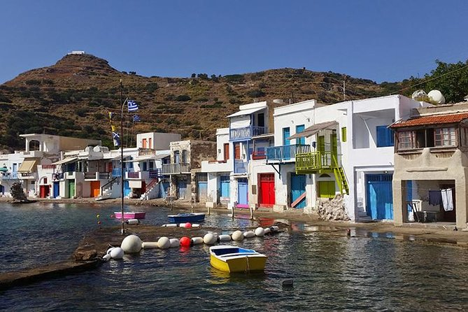 Shared Trip from Milos to Polyaigos via Goupa & Syrmata