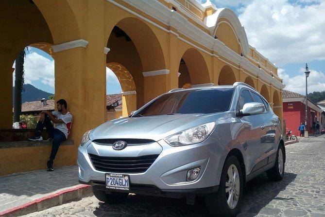 Private Transportation from Guatemala City to La Antigua