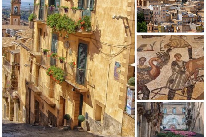Tour from Agrigento / Licata to Piazza Armerina / Caltagirone