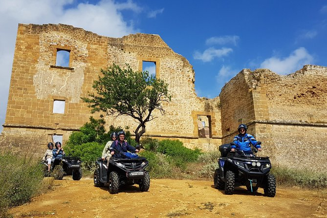 Excursion Quad Tour 2 hours hinterland Sciacca and Ribera
